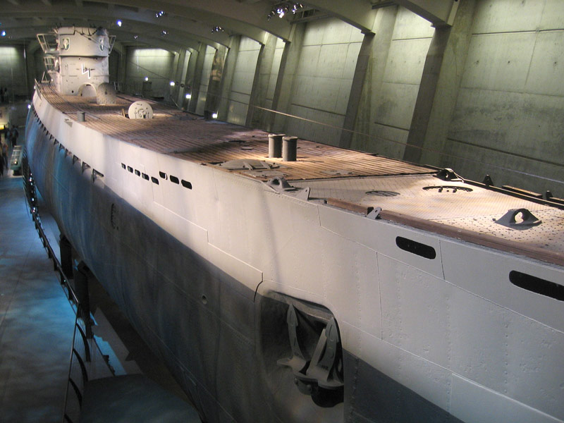 L'U-505 nel Museum of Science and Industry di Chicago