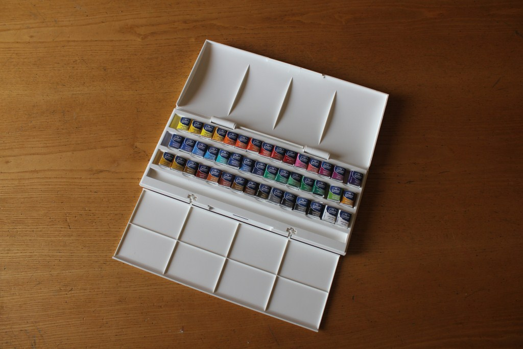 Winsor & Newton Cotman Studio 45 Half Pan Set 3