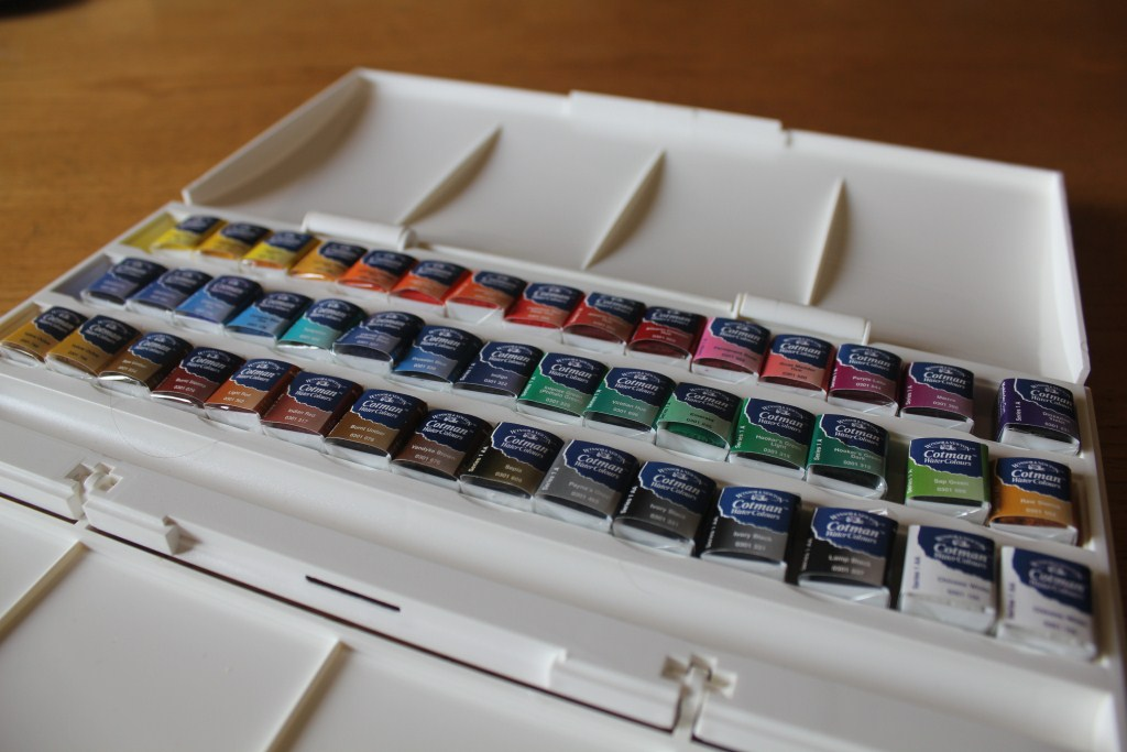 Winsor & Newton Cotman Studio 45 Half Pan Set 4