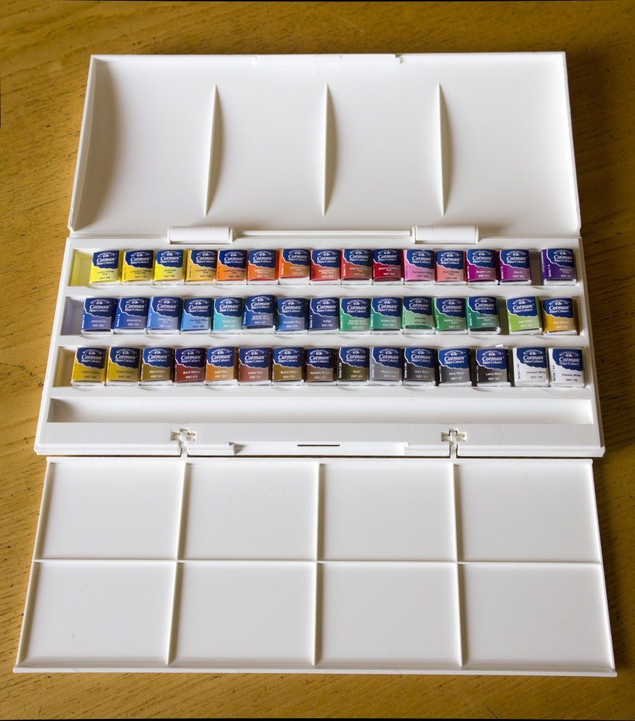 Winsor & Newton Cotman Studio 45 Half Pan Set 6